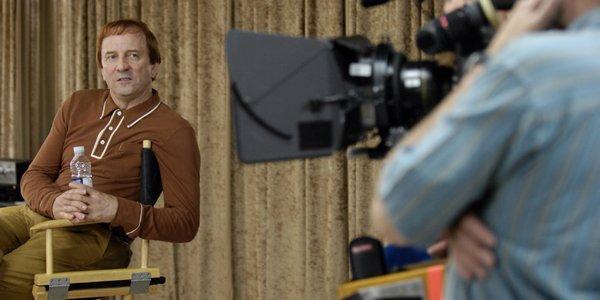 Michel Côté pendant le tournage de Cruising Bar... (Bernard Brault, La Presse)