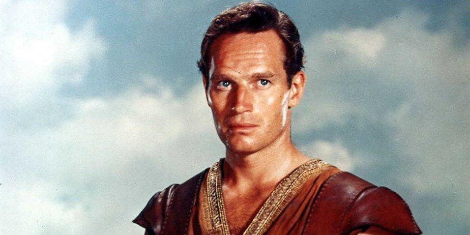 Charlton Heston dans Ben Hur.... (AP)