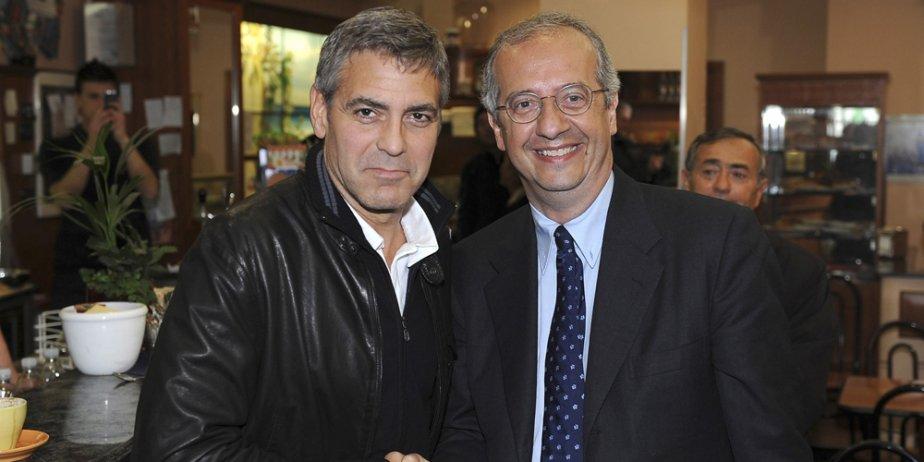 George Clooney et le chef du Parti démocrate... (AP)