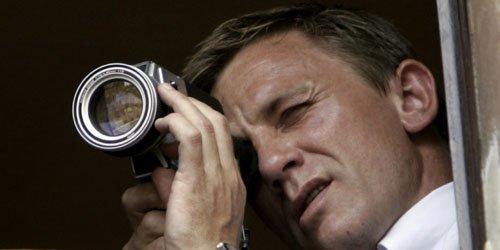 Daniel Craig sur le tournage de Quantum of... (Reuters)