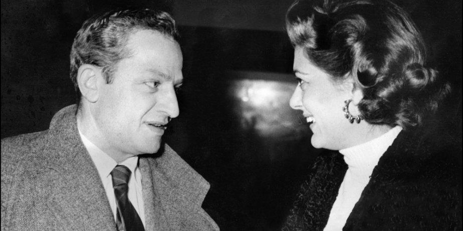 Jules Dassin et son épouse, l'actrice Mélina Mercouri,... (AFP)