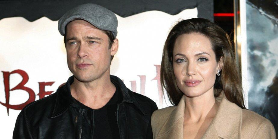 L'un des couples les plus glamours de Hollywood, Angelina Jolie et Brad... (AP)