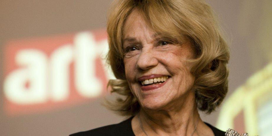 Jeanne Moreau a fait cadeau de sa présence... (ARTV)