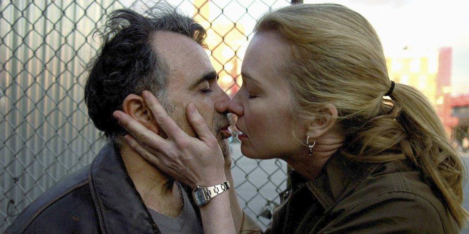 Moshe Ivgy et Karen Young dans une scène... (AP)