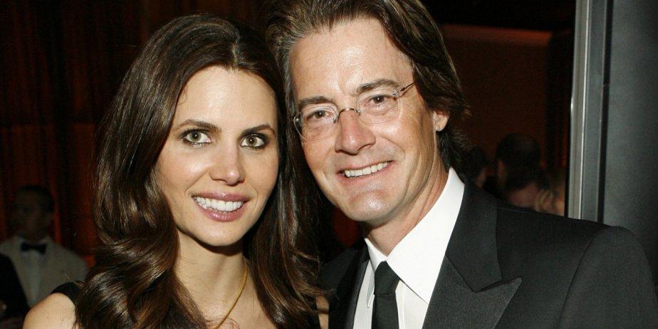 Kyle MacLachlan et sa femme Desiree Gruber... (AP)