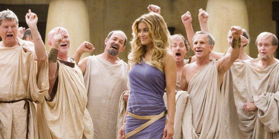 Carmen Electra dans Meet the Spartans....