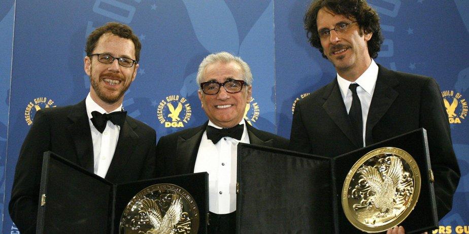 Martin Scorsese a présenté le prix à Joel... (Reuters)