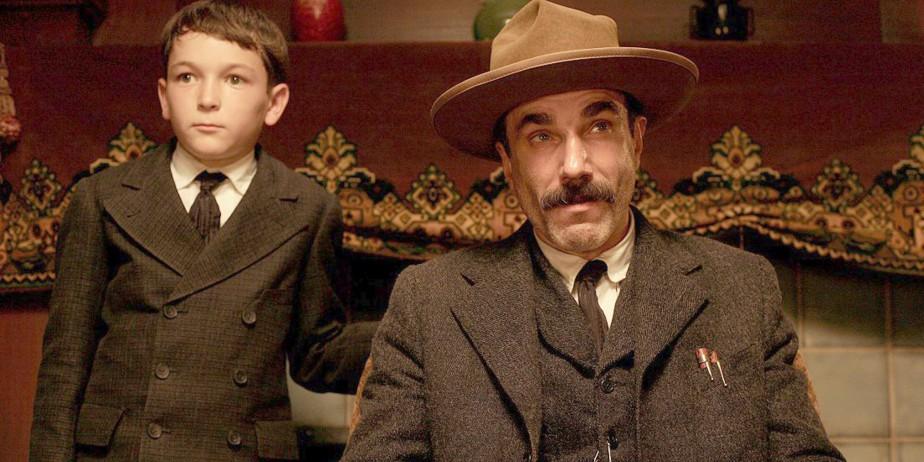 Dillon Freasier et Daniel Day-Lewis dans une scène... (Paramount)