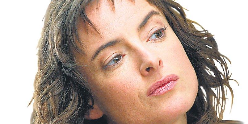 Pascale Bussières achève l'écriture de son premier... (archives La Presse)