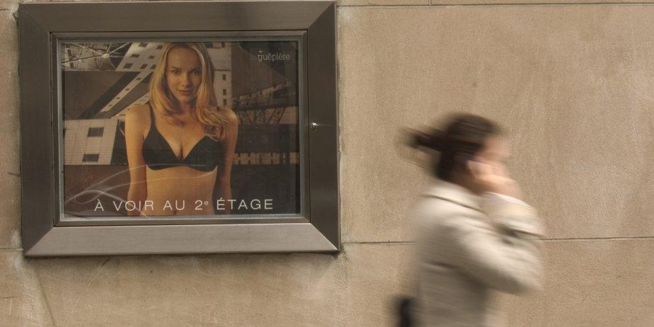 La réalisatrice explore l'hypersexualisation de l'espace... (Archives La Presse)