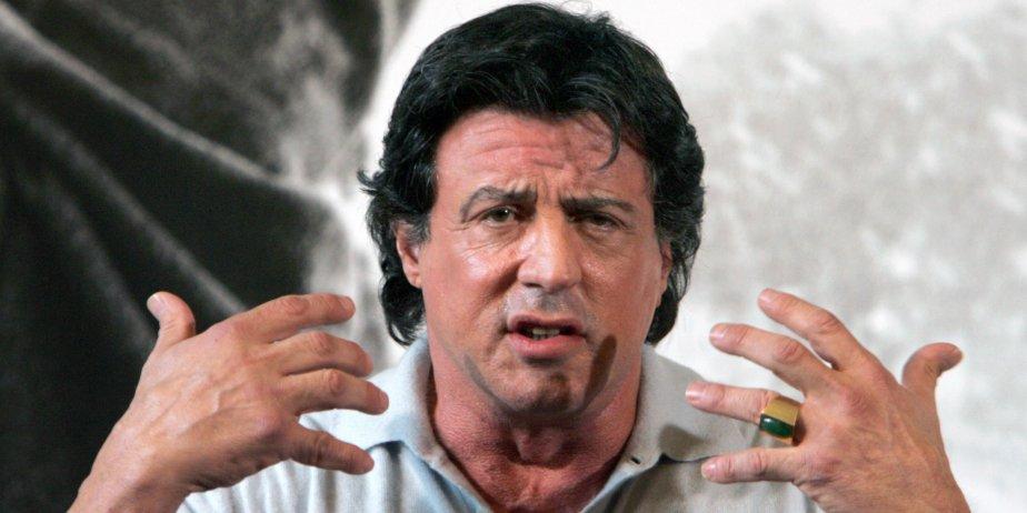 Sylvester Stallone et son équipe, qui tournaient récemment la suite de... (AP)