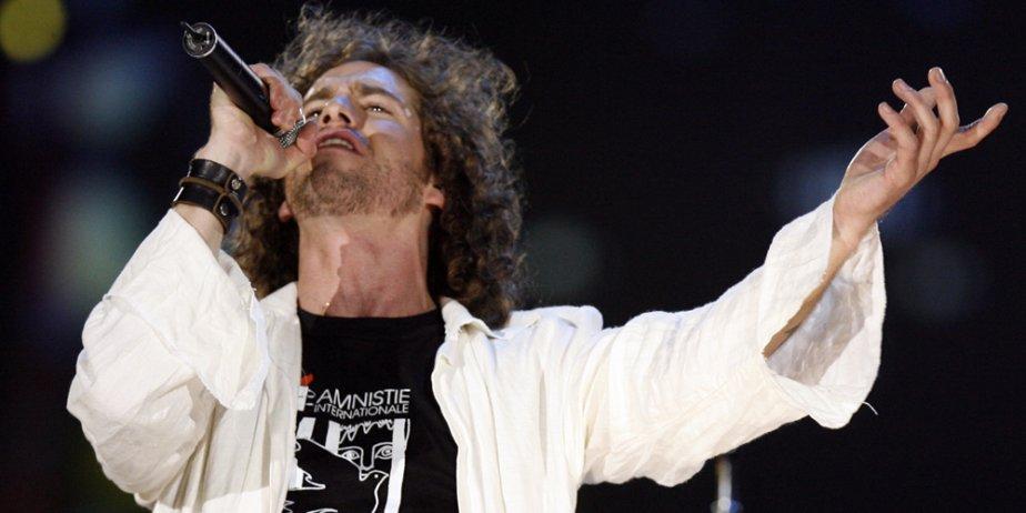 Le chanteur Jonas... (François Roy, La Presse)