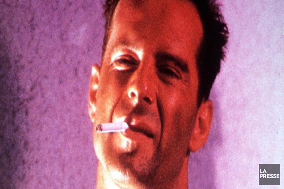 Bruce Willis dans le film Die Hard.... (AP)