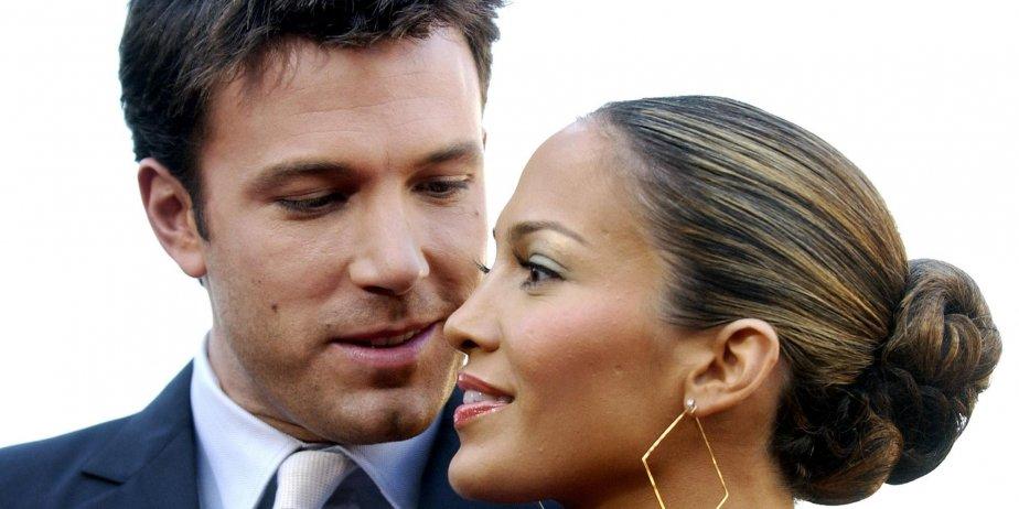 Ben Affleck et Jennifer Lopez en 2003.... (archives AP)