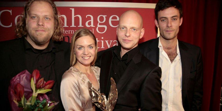 Ragnar Bragason (au centre).... (AFP)