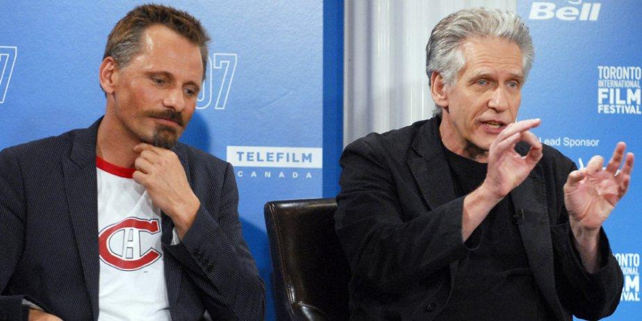 Viggo Mortensen et David Cronenberg.... (Presse Canadiennne)