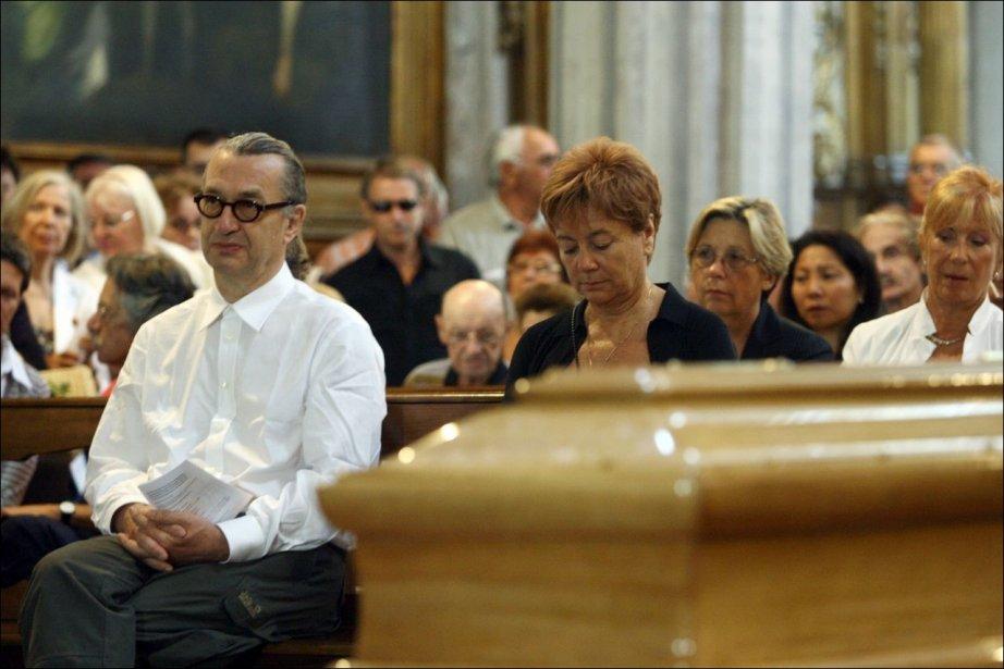 Le réalisateur Wim Wenders  assistait aux funérailles,...