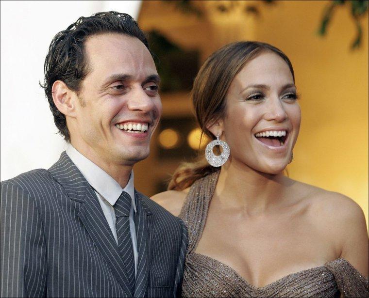 Jennifer Lopez et son mari Marc Anthony ont assisté lundi soir à...