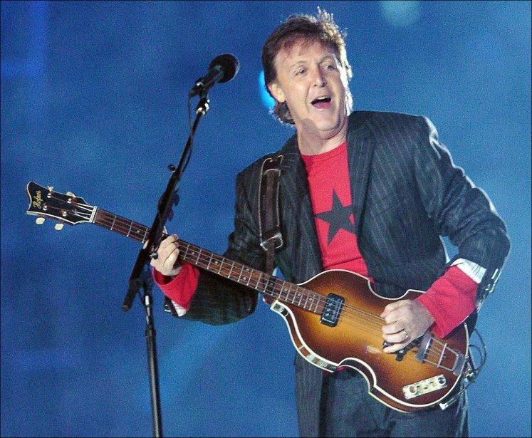 L'ex-Beatle Paul McCartney a perdu une place et ne figure plus qu'en 3e...