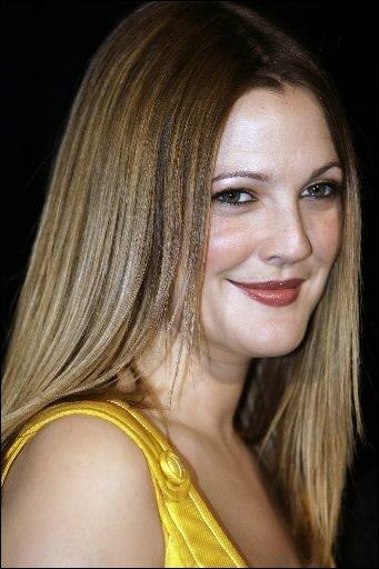 Drew Barrymore...