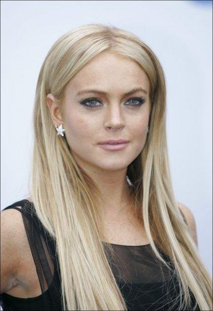 L'actrice Lindsay Lohan, soupçonnée de conduite en état d'ivresse et de...