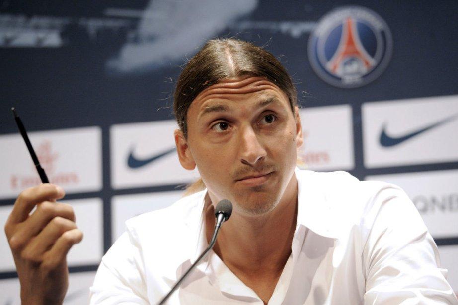 Zlatan Ibrahimovic... (Photo Bertrand Guay, Agence France-Presse)