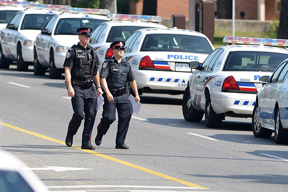 La police de Toronto a beaucoup de pain... (Photo archives La Presse Canadienne)