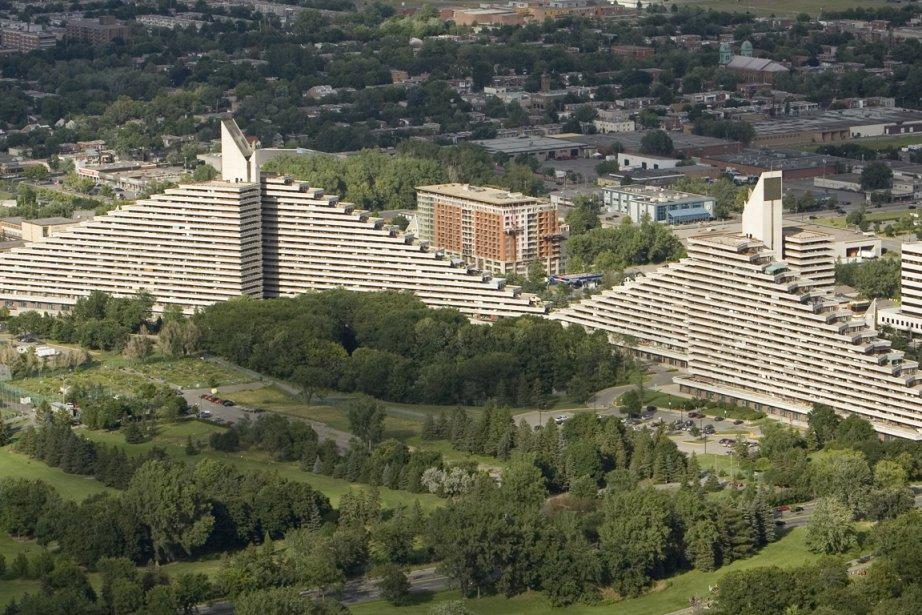 Les résidants du Village olympique, à Montréal, en... (Photo archives La Presse)
