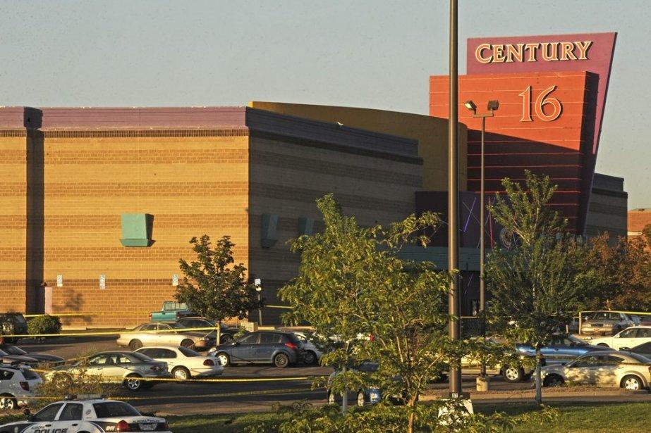 Le Century 16 Theatre où a eu lieu la tuerie. | 20 juillet 2012