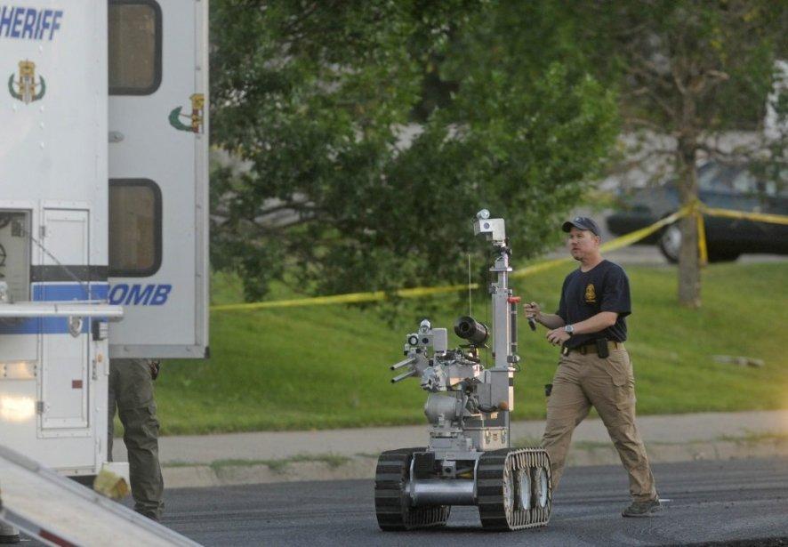 Un membre de l'équipe SWAT. | 20 juillet 2012