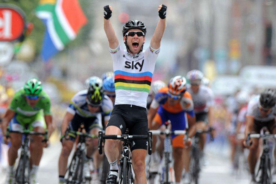 Mark Cavendish... (Photo: AFP)