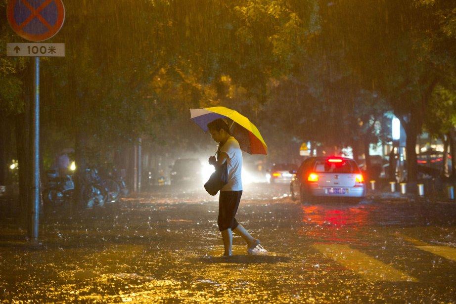 De nouvelles victimes des pluies qui sont tombées... (Photo : Ed Jones, AFP)
