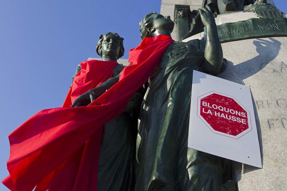 L'initiative calque le vocable de la CLASSE «bloquons... (Photo: Ivanoh Demers, archives La Presse)