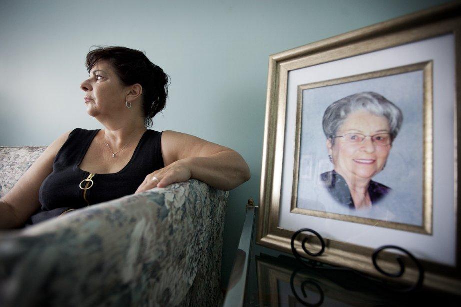 La mère de Joanne St-Amand, Claudette Pigeau, a... (Photo: Marco Campanozzi, La Presse)