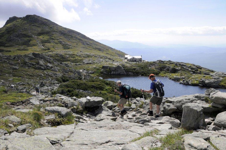 Le Lakes of the Clouds, navire amiral du réseau de gîtes des montagnes Blanches. | 23 juillet 2012