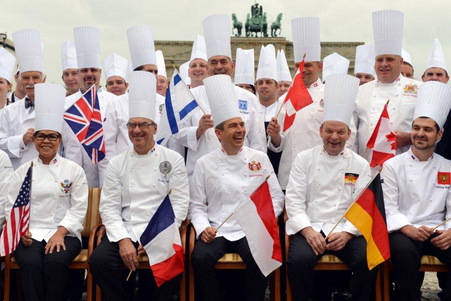 Les membres duclub «Chefs des chefs».... (Photo RelaxNews)
