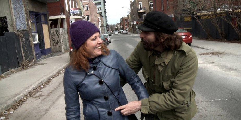 Marie-Chantal Perron et David La Haye ont tourné... (fournie par Excentris)