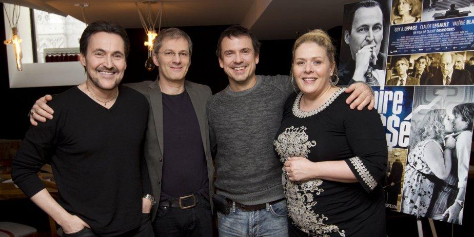 Quatre artisans du film L'empire Bo$$é, qui arrive... (Robert Sklnner, La Presse)