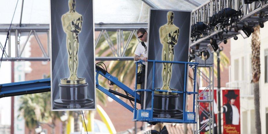 La cérémonie des Oscars est traditionnellement l'événement télévisuel... (Danny Moloshok, Reuters)