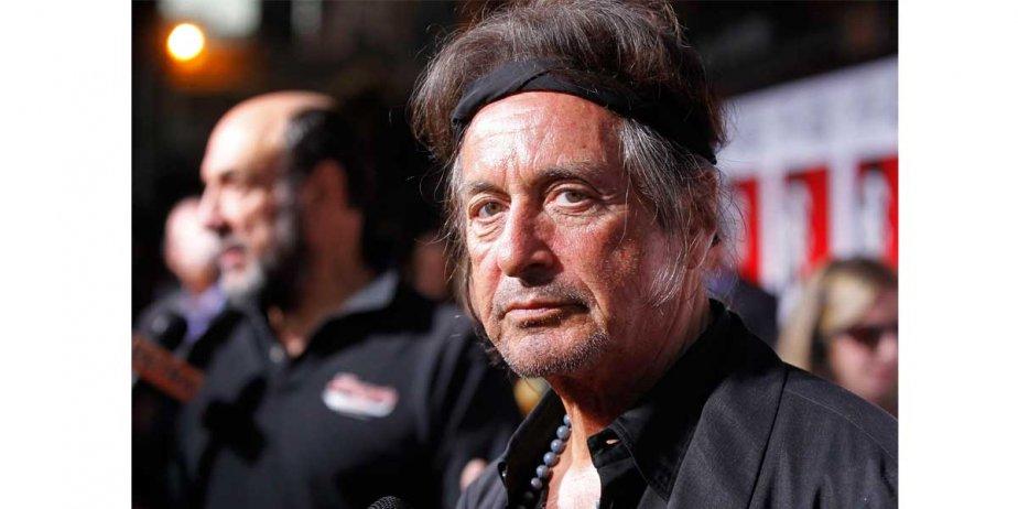 Al Pacino lors d'une fête organisée à l'occasion... (Reuters)