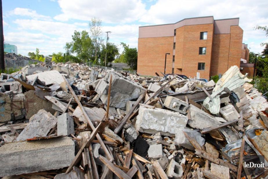 Des débris contenant de l'amiante.... (archives LeDroit)