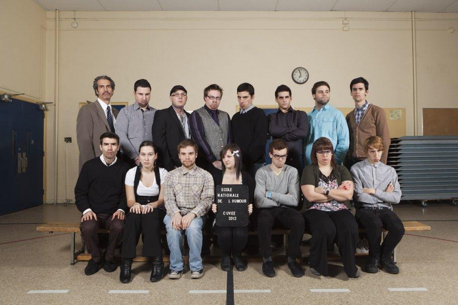 Diplômés de l'École nationale de l'humour... (PHOTO FOURNIE PAR LE ZOOFEST)