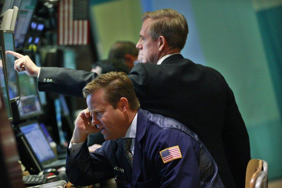 La Bourse de Toronto a clôturé mercredi en... (PHOTO BRENDAN MCDERMID, REUTERS)