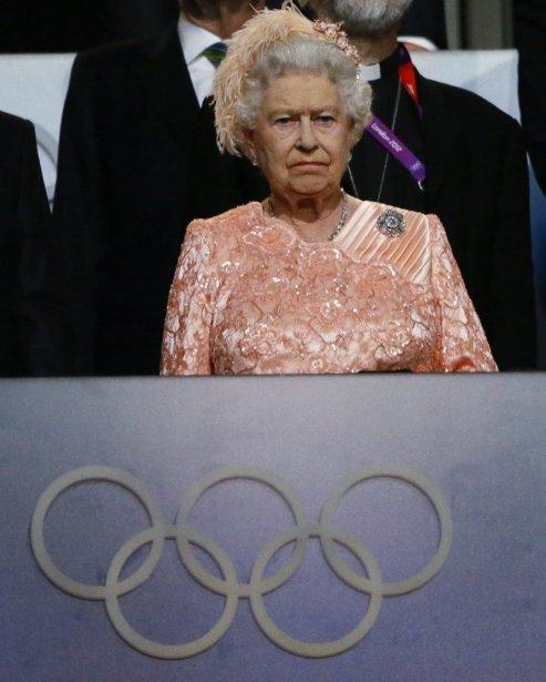 La reine Élisabeth II. | 27 juillet 2012