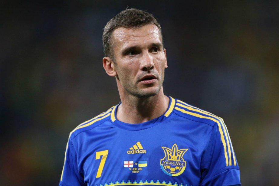 Andreï Shevchenko... (Photo Alexander Khudoteply, Agence France-Presse)