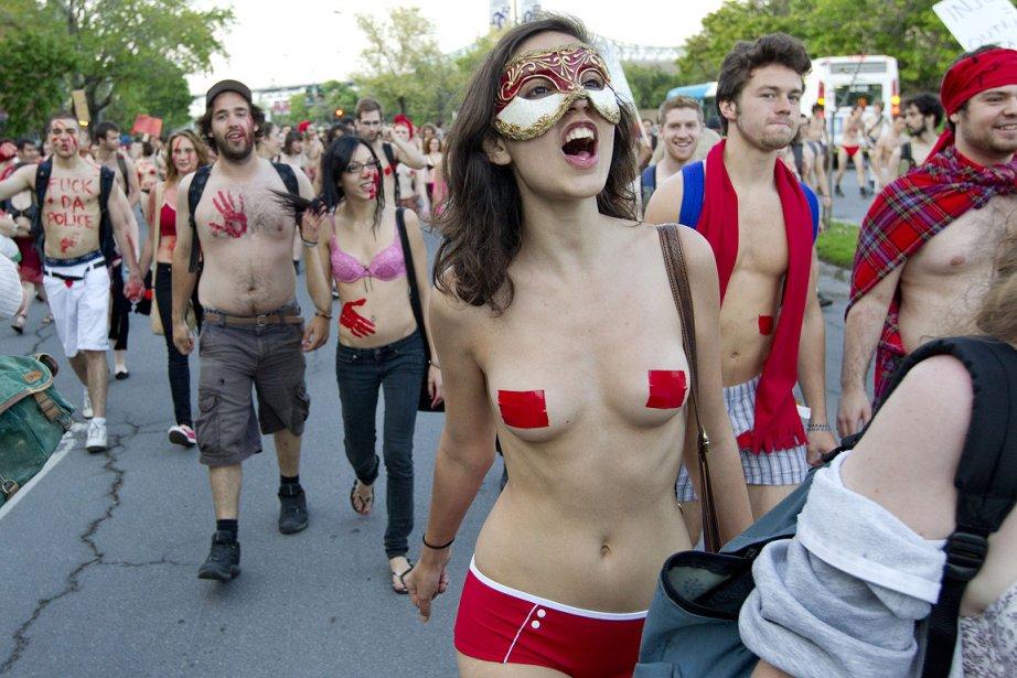 Ce printemps, des étudiants ont participé à plus... (Photo: Édouard Plante-Fréchette, La Presse)