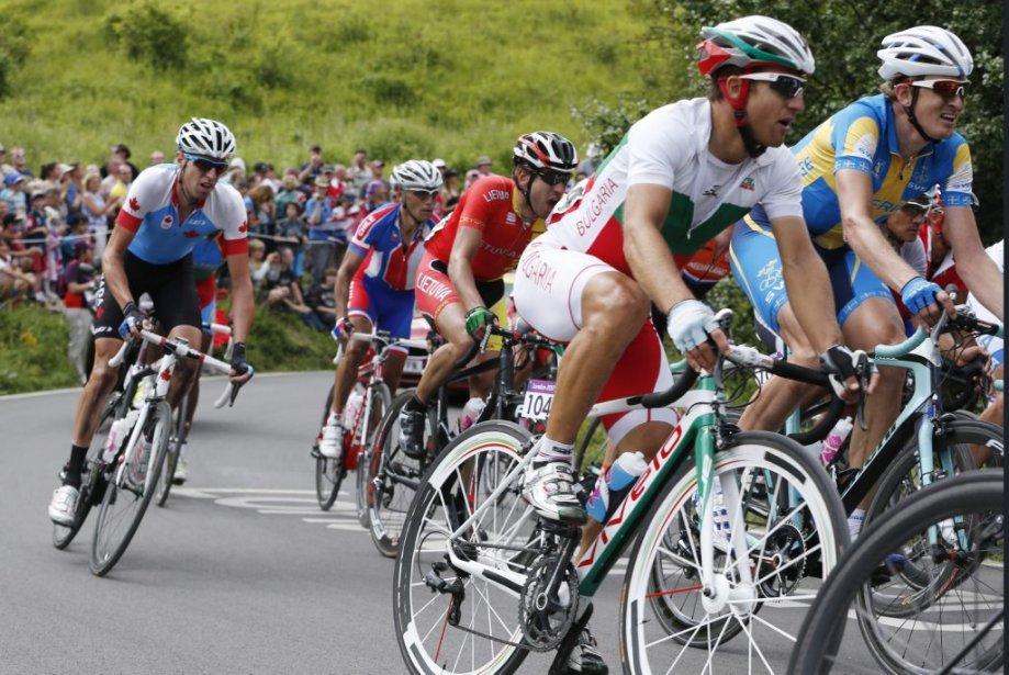 Ryder Hesjedal a participé à la course de cyclisme sur route. | 28 juillet 2012