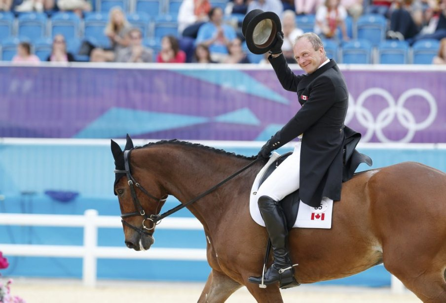 Peter Barry et son cheval Eddie. | 28 juillet 2012