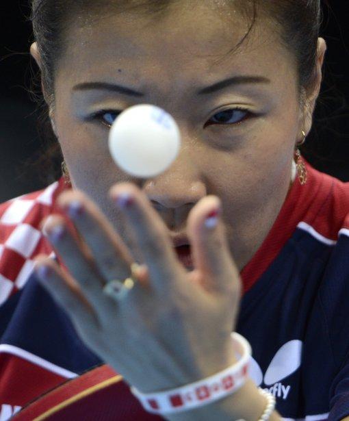Tennis de table femmes: Yuan Tian de la Croatie | 29 juillet 2012