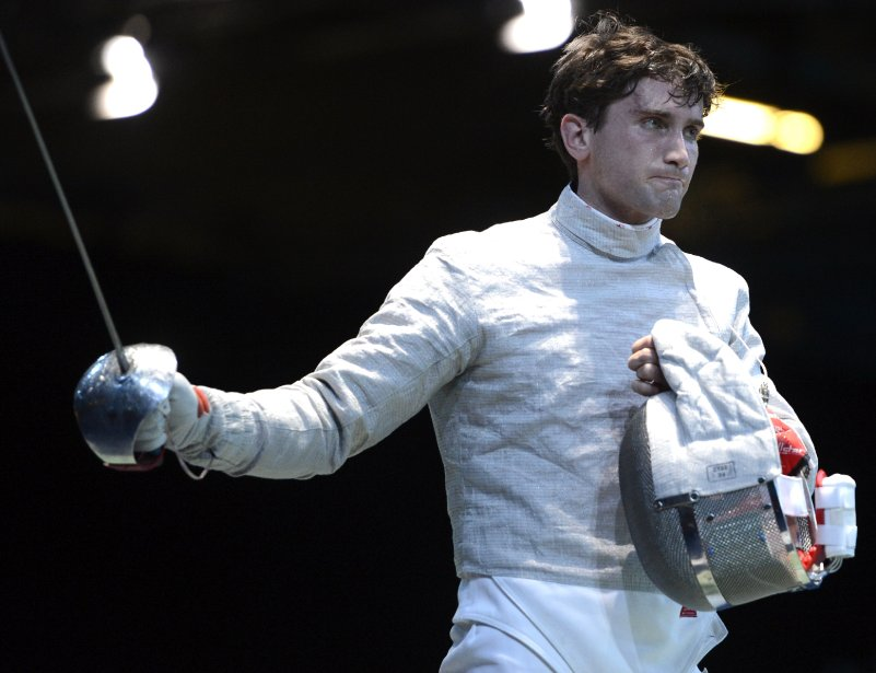 Escrime-sabre: Philippe Beaudry (photo) a perdu son duel face à Dimitri Lapkes. | 29 juillet 2012